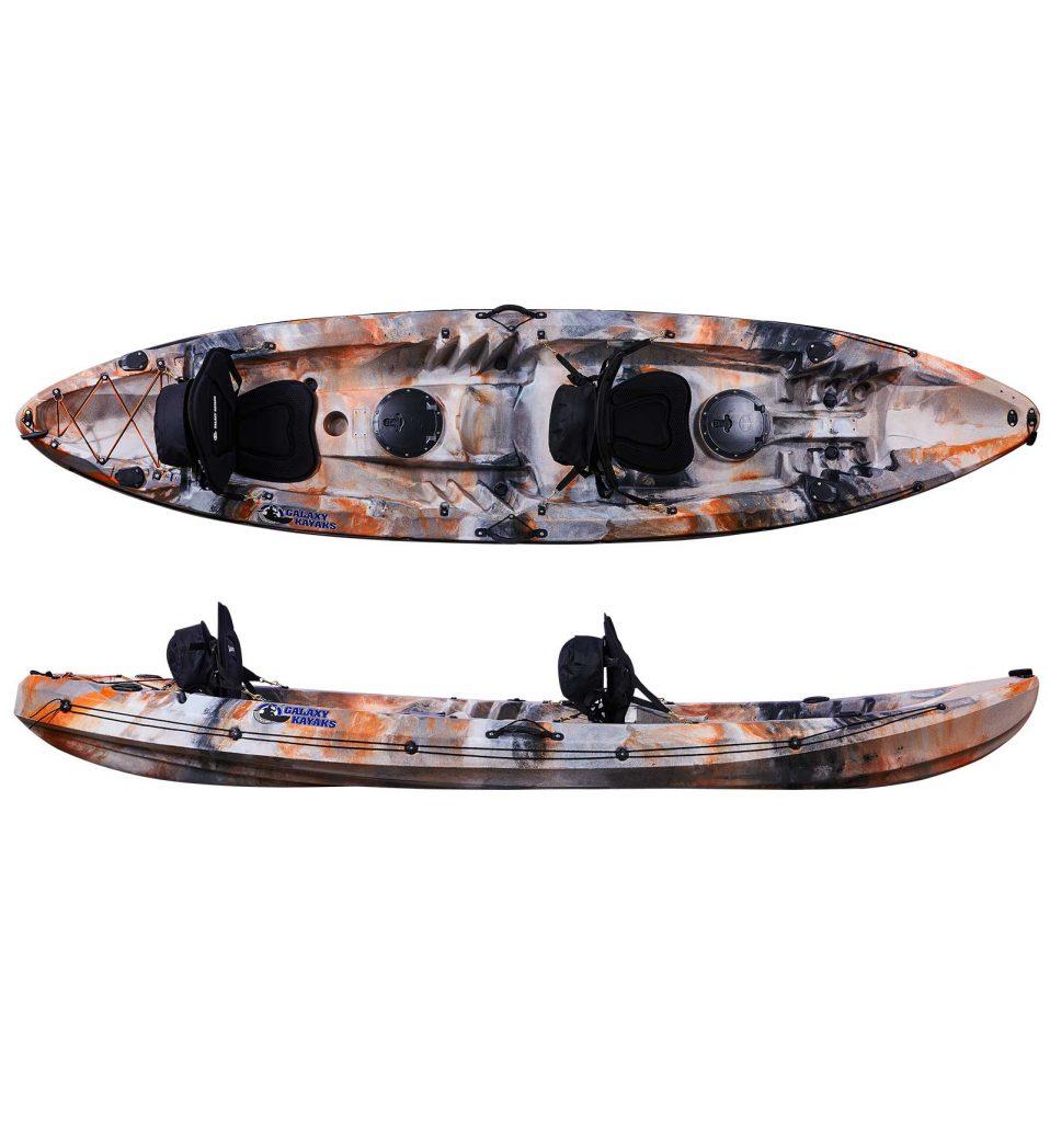 SIT ON TOP LEISURE FISHING KAYAK CANOE GALAXY CRUZ LATEST MODEL